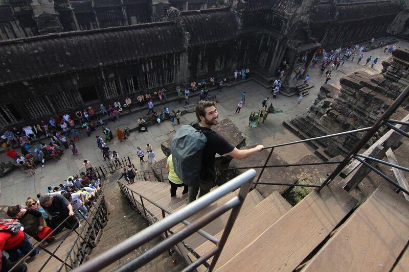 Carl Angkor Wat Cambodia