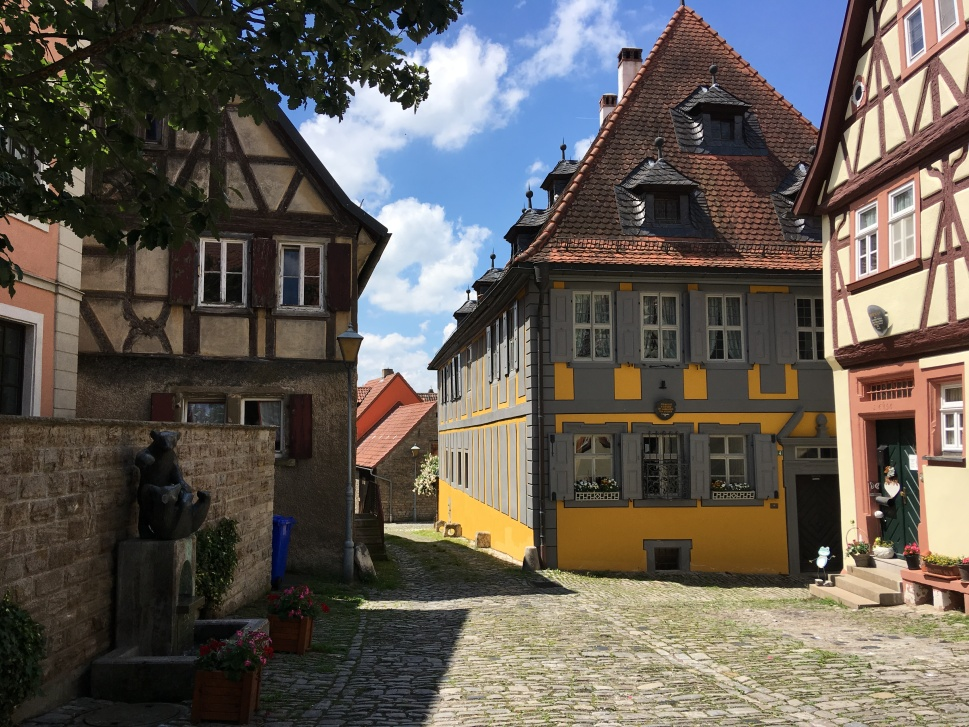Jess' route took her through the villages of Bavaria