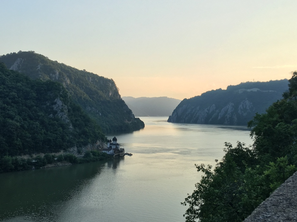 The Danube's Iron Gates in Serbia